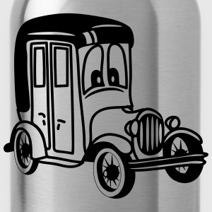 oldie classic car car car car funny T-Shirts - Water Bottle