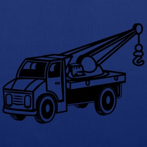 Car toy truck crane tow truck-mounted crane truck  T-Shirts - Tote Bag