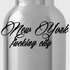 New York Fucking City T-shirts - Drikkeflaske