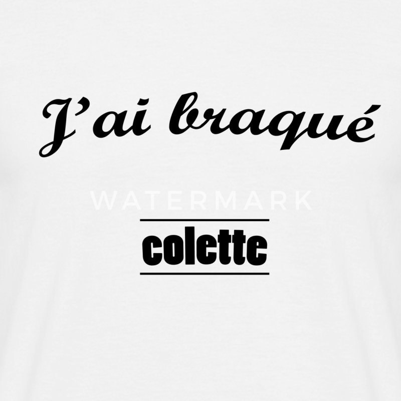 Colette Braquage Tee shirts - T-shirt Homme