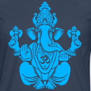 Blue Ganesh T-Shirts - Men's Premium Longsleeve Shirt
