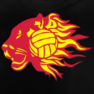 Volleyball Feuer Flamme Panther-Logo T-Shirts - Baby T-Shirt