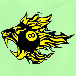 Tiger Pool Tier Feuer Flamme-Logo T-Shirts - Baby T-Shirt