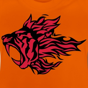Tiger Tier Feuer Flamme 3020 T-Shirts - Baby T-Shirt