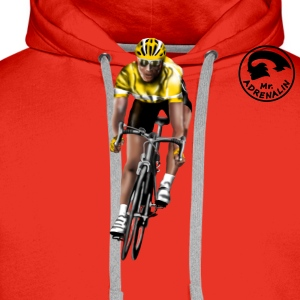 racing bicycle T-Shirts - Men's Premium Hoodie