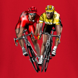racing bicycle Camisetas - Camiseta manga larga bebé