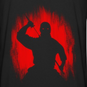 Ninja / Samurai Warrior Hoodies - Men's Premium Longsleeve Shirt