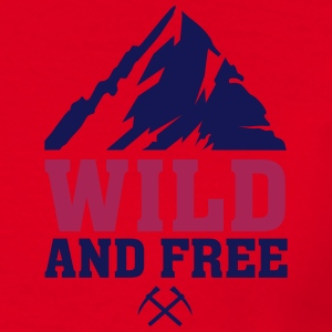 WILD AND FREE Pullover & Hoodies - Männer T-Shirt