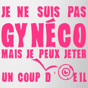 suis pas gyneco jeter coup oeil expressi Tee shirts - Tasse