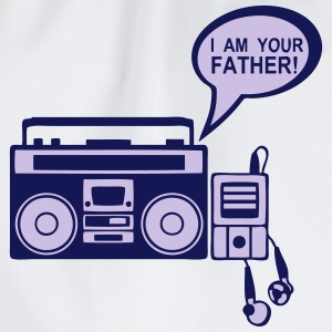 i_am_your_father K7 mp3-Radio-Player 0 Pullover & Hoodies - Turnbeutel
