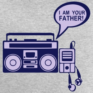 i am your father radio k7 mp3 lecteur 0 Tee shirts manches longues - Sweat-shirt Homme Stanley & Stella