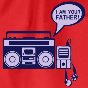 i_am_your_father K7 mp3-Radio-Player 0 Langarmshirts - Turnbeutel