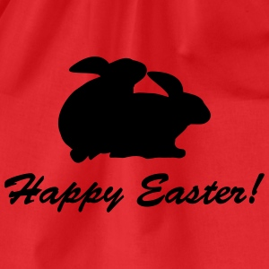 happy easter T-Shirts - Turnbeutel
