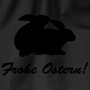 Frohe Ostern T-Shirts - Turnbeutel