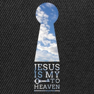 Key to Heaven (JESUS-shirts) - Snapback Cap
