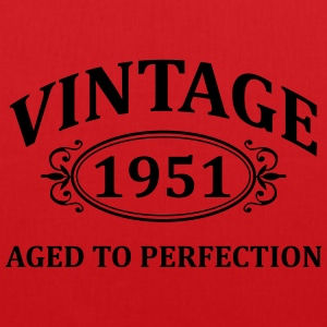 vintage 1951 aged to perfection T-Shirts - Tote Bag