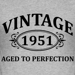 vintage 1951 aged to perfection Hoodies & Sweatshirts - Men's Slim Fit T-Shirt