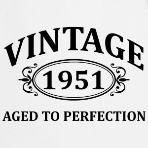 vintage 1951 aged to perfection Hoodies & Sweatshirts - Cooking Apron