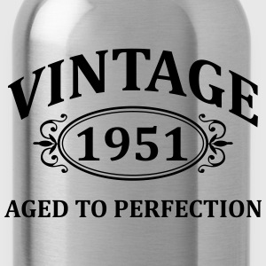 vintage 1951 aged to perfection Hoodies & Sweatshirts - Water Bottle