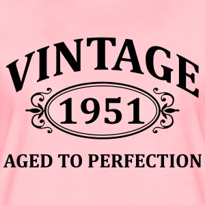 vintage 1951 aged to perfection Hoodies & Sweatshirts - Women's Premium T-Shirt
