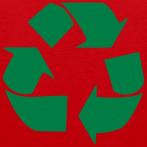 Recycling for the World Magliette - Canotta premium da uomo