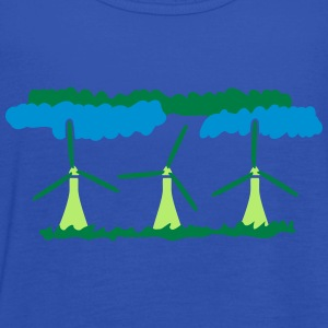 Windenergy T-shirts - Vrouwen tank top van Bella