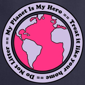 My Planet is my Hero T-shirts - Förkläde