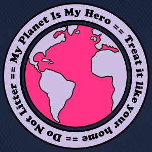 My Planet is my Hero T-shirts - Basebollkeps