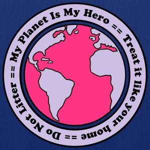 My Planet is my Hero T-shirts - Tygväska