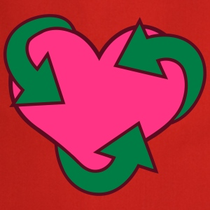 Heart Recycle T-shirts - Förkläde