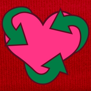 Heart Recycle Tee shirts - Bonnet d'hiver
