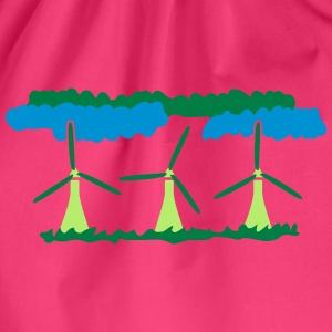 Windenergy T-shirts - Gymnastikpåse