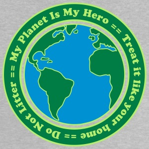 My Planet is my Hero Camisetas - Camiseta bebé