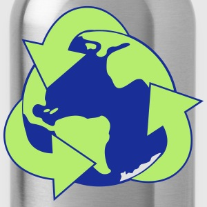 Planet Reduce Reuse Recycle Shirts - Water Bottle