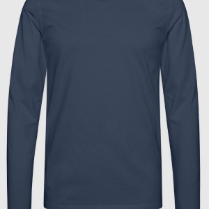 old school style T-Shirts - Men's Premium Longsleeve Shirt