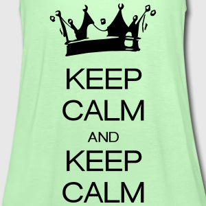 keep calm and keep calm Camisetas - Camiseta de tirantes mujer, de Bella