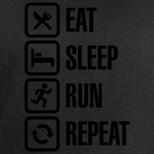 Eat sleep run repeat Camisetas - Sudadera hombre de Stanley & Stella