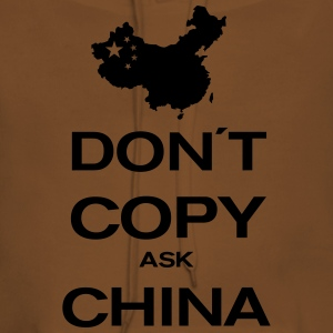 don´t copy ask china T-shirts - Dame Premium hættetrøje