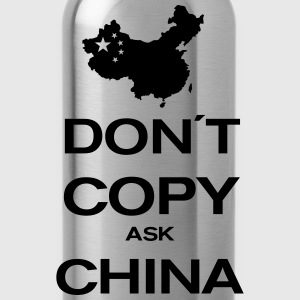 don´t copy ask china T-shirts - Drinkfles