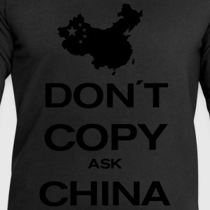 don´t copy ask china T-shirts - Mannen sweatshirt van Stanley & Stella