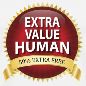 Extra Value Human - 50% Extra Free Sign Bottles &  - Men's Premium T-Shirt
