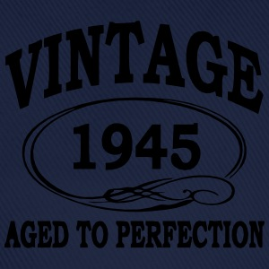 VINTAGE 1945 - Birthday - Aged To Perfection T-Shirts - Baseball Cap