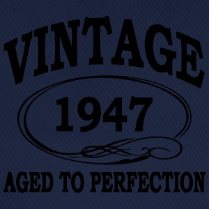 VINTAGE 1947 - Birthday - Aged To Perfection T-Shirts - Baseball Cap