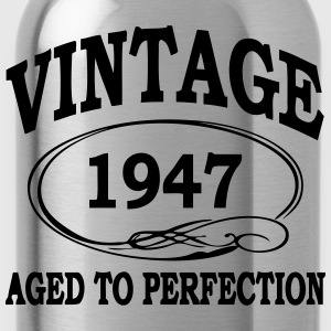 VINTAGE 1947 - Birthday - Aged To Perfection T-Shirts - Water Bottle