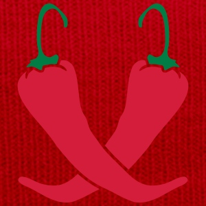 2 chili chilli peppers hot hot T-Shirts - Winter Hat