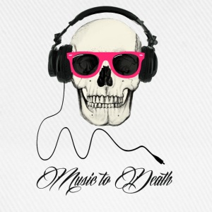 DJ SKULL Music to Death Tee shirts - Casquette classique