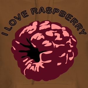 Raspberry fruit bio healthy T-Shirts - Women's Premium Hoodie