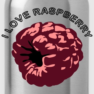 Raspberry fruit bio healthy T-Shirts - Water Bottle