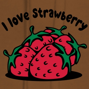 Strawberry fruit organic fruit T-Shirts - Women's Premium Hoodie