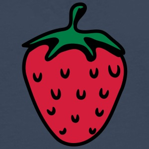 Strawberry fruit organic fruit T-Shirts - Men's Premium Longsleeve Shirt